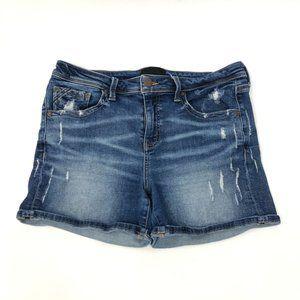 Buckle Black Fit# 256 Cuffed Blue Jean Shorts